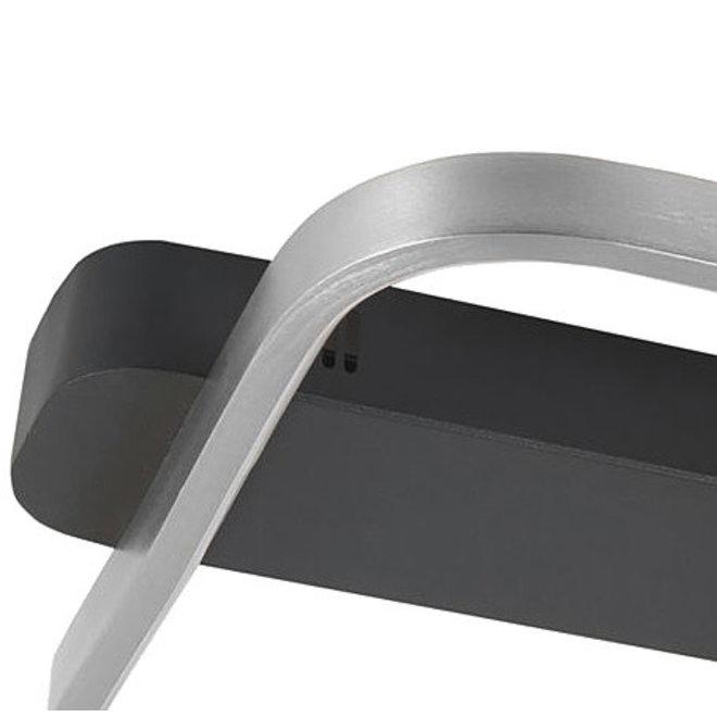 Plafonnière Ascona zilver