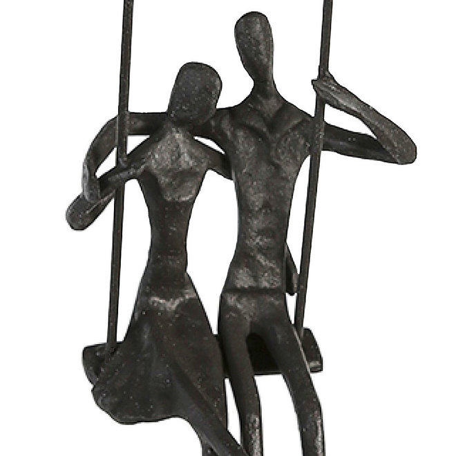 Metal-Sculpture 'Swing'