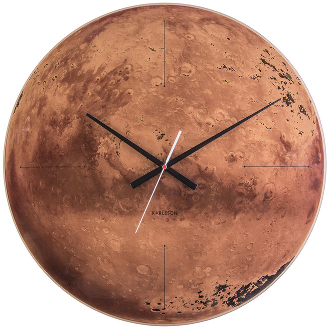 Wall Clock Mars