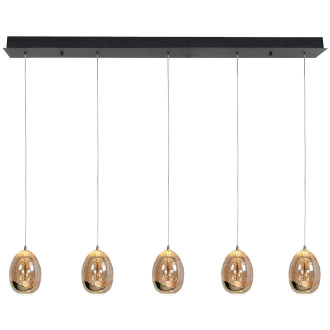 Hanglamp Golden Egg, balk