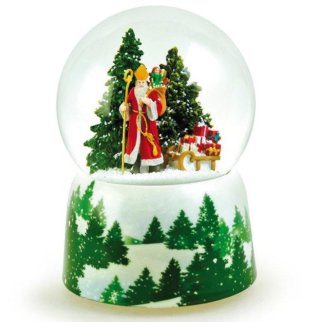 Sneeuwbol Sinterklaas