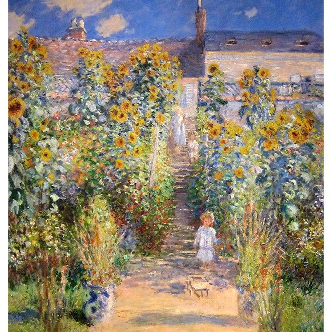 Lakdoos De tuin van Monet in Vétheuil