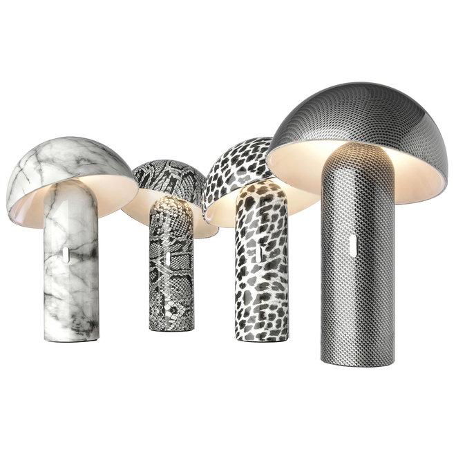 Sompex Accu LED Tafellamp Svamp - Carbon