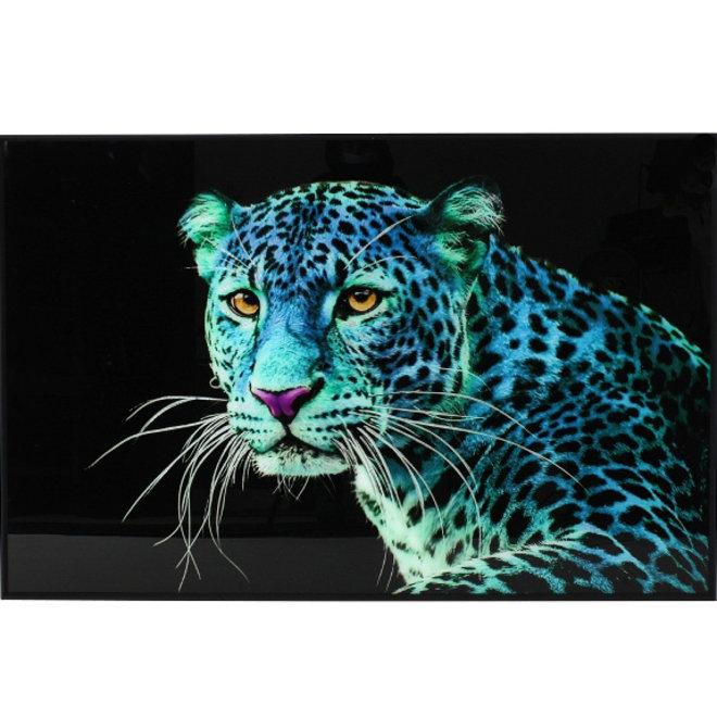 """Wanddeco """"Blue Leo"""" 80x120"""