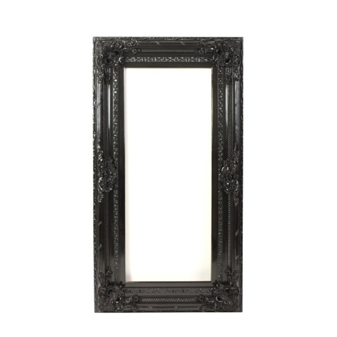 Baroque Frame Venice Black