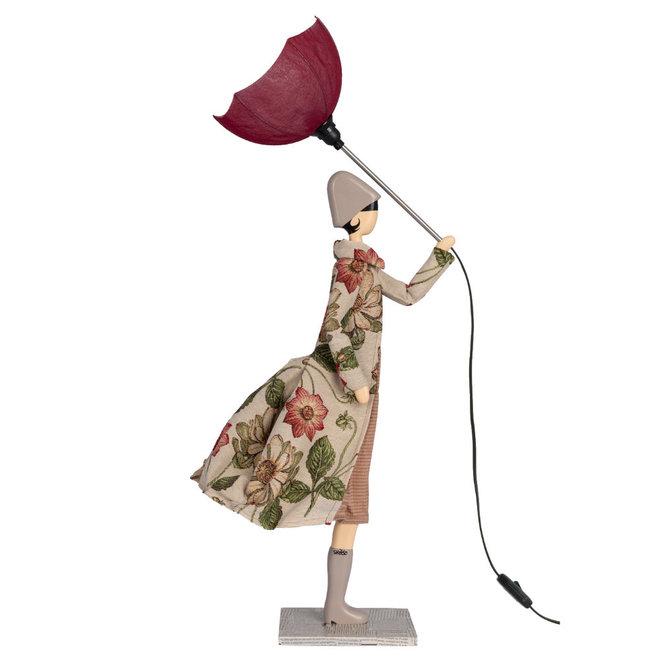 Tafellamp Paraplu dame Anthemis