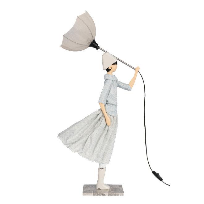 Tafellamp Paraplu dame Dido
