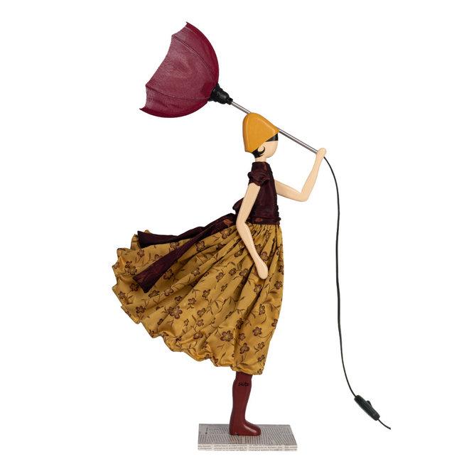 Skitso Tafellamp Paraplu dame  Elizabeth