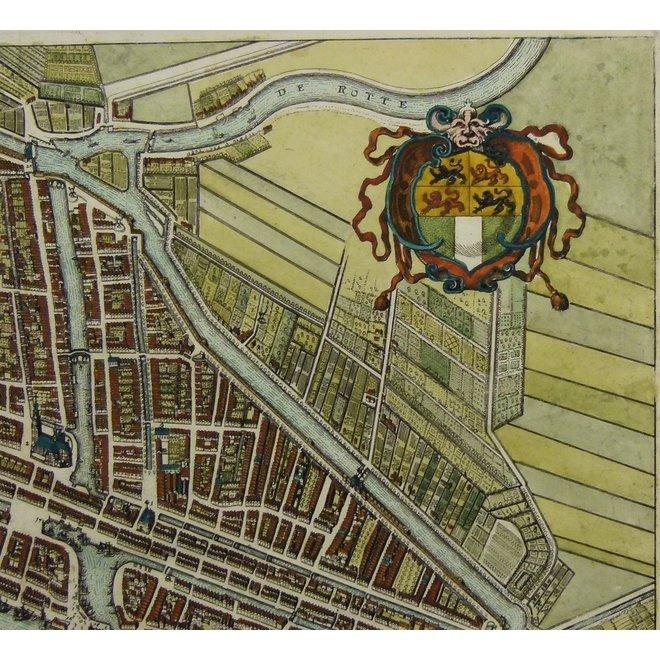 gereserveerd - Collectie Gouldmaps - Rotterdam; M. Merian - Rotterdam. - 1638