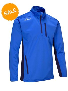 Stuburt Endurance Half Zip Fleece Trui - Imperial blauw