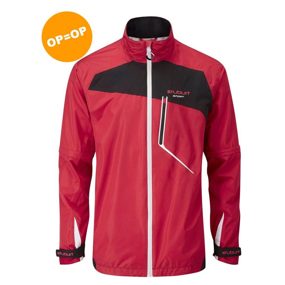 Stuburt Cyclone Regen Jacket - Rood