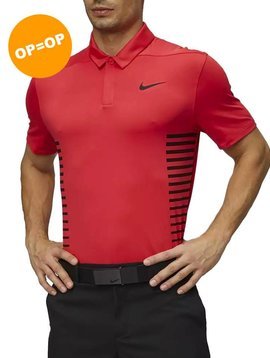 Nike Dry Print Polo - Tropical Pink