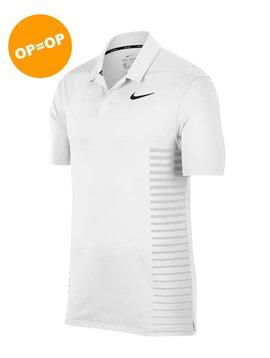 Nike Dry Print Polo - Wit
