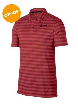 detailed look 6b32e 02d5c Sale. Nike Dry Stripe Polo - Tropical Pink