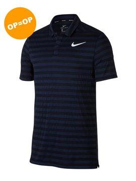 Nike Dry Stripe Polo - Navy