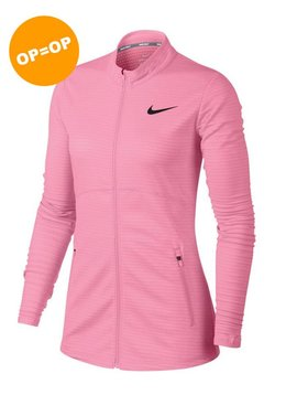 Nike Dames Dry full Zip Top - Roze