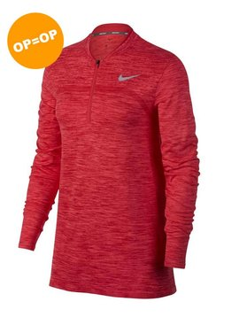 Nike Dames Dry Half Zip Top - Roze