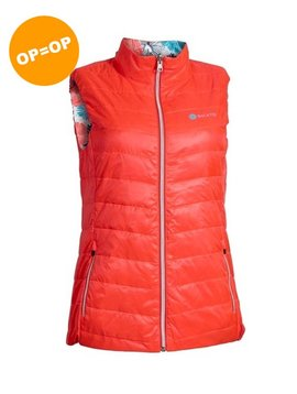 BackTee Dames Reversible Bodywarmer - Coral