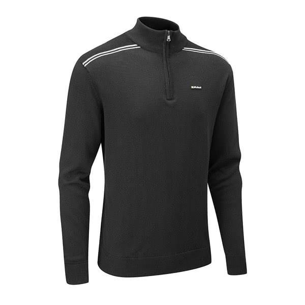 Stuburt Hydro Sport 1/4 Zip Sweater - Zwart