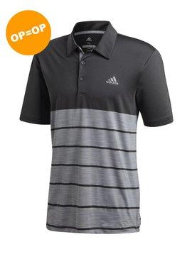 Adidas Ultimate 365 3-Stripe Polo - Grijs