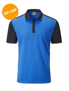 Ping Collection Quinn golf polo - Blauw/Navy