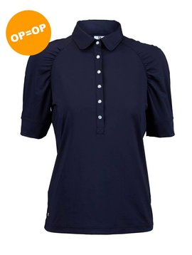 Daily Sports Ariana 1/2 Sleeve Polo - Navy