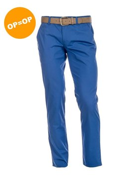 Alberto Rookie Regular slim fit - Blauw