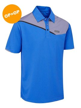 Stuburt Urban Corby Golfpolo - Blauw/Grijs