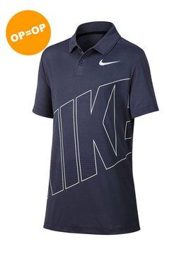 Nike Boys Dry Polo - Grijs