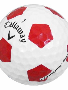 Callaway Chrome Soft Truvis - Rood