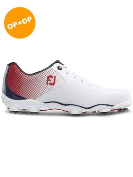 FootJoy DNA Helix - Wit/Rood/Blauw