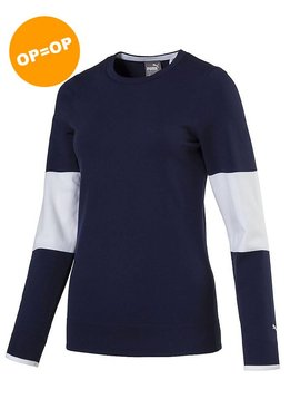 Puma Dames Evoknit Sweater - Peacoat