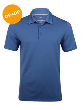 Adidas Ultimate 365 Solid Polo - Blauw