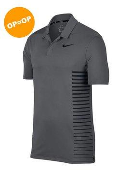 Nike Dry Print Polo - Donker Grijs