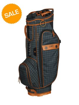 Ogio Majestic Trolley Tas - Brown Leather