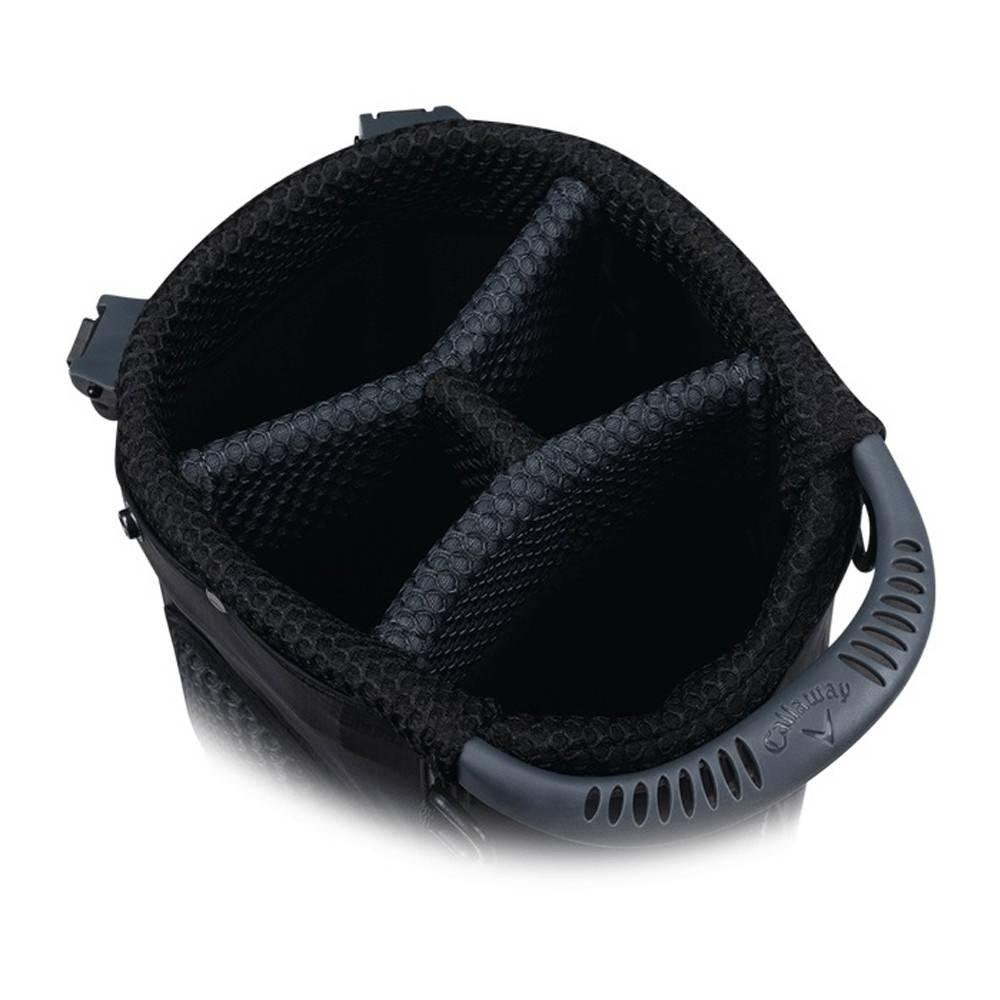 Callaway Hyper Lite Zero  Standbag - Blauw/Titanium//Wit