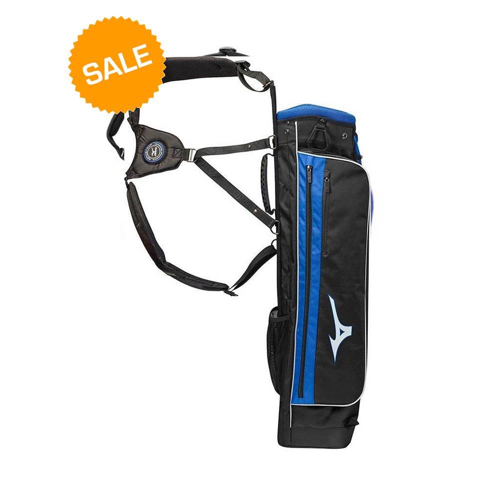 Mizuno Scratch golftas - Zwart