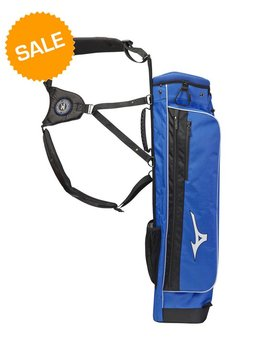 Mizuno Scratch golftas - Royal blauw