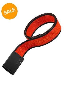 Mizuno Webbing Belt - Oranje / Zwart