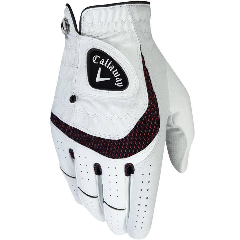 Callaway SynTech handschoen - Linkshandig - Wit