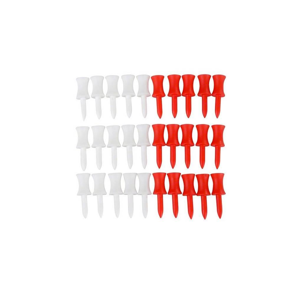 """TourEagle plastic stepped tees 1.5"""" - 30 stuks"""