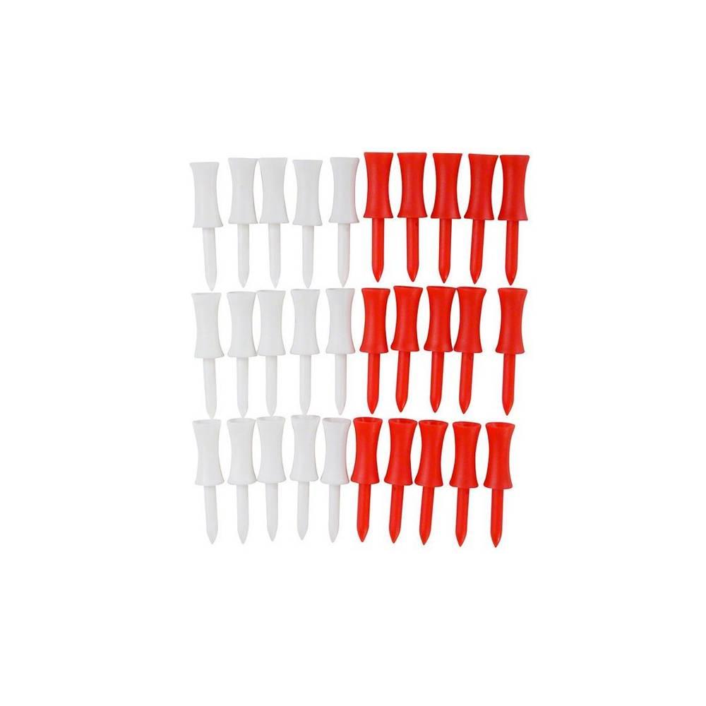 """TourEagle plastic stepped tees 2"""" - 30 stuks"""