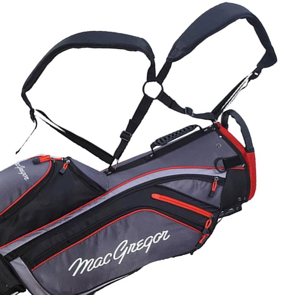 Macgregor Golf MT Draagtas- Grijs/Zwart/Rood