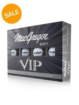 Macgregor Golf Vip Soft golfballen dozijn - wit