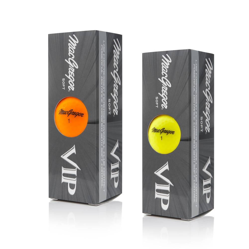 Macgregor Golf VIP Soft golfballen - High Optic Matte Finish