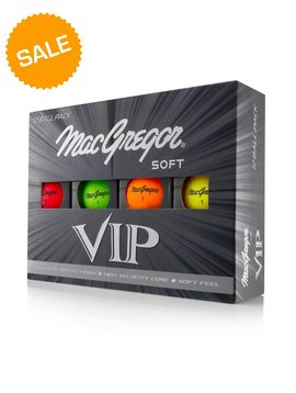Macgregor Golf VIP Soft golfballen - High Optic Matte Finish