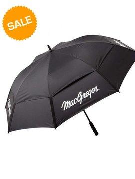 Macgregor Golf VIP Dual Canopy paraplu - Zwart