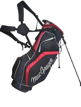 Macgregor Golf Response 9 inch draagtas - Zwart/Rood