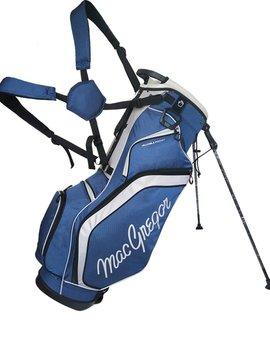 Macgregor Golf Response 9 inch draagtas - Zwart/Zilver