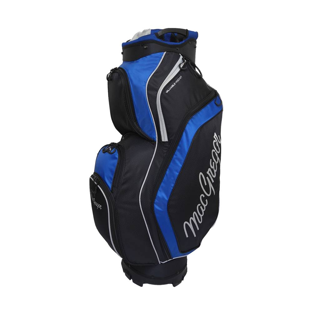 Macgregor Golf Response trolley tas - Zwart/Blauw